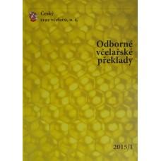 Odborné Včelařské překlady 1/2015