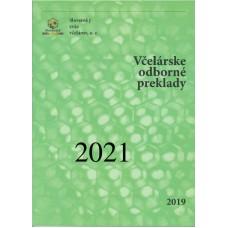 Včelárske odborné preklady 2021