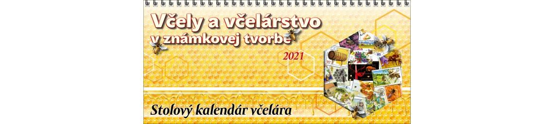 Stolový kalendár na rok 2021