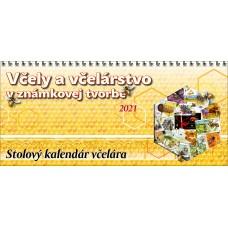Stolový kalendár včelára na rok 2021