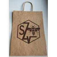 Papierová taška s logom SZV
